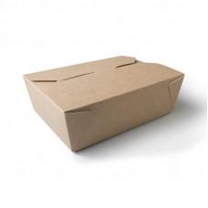 Коробка универсальная 900 мл бумага крафт
