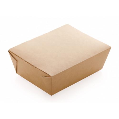 Ланч-бокс универсальный 1000мл бумага крафт