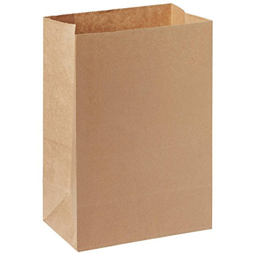 Пакет 220х140х80мм прямоугольное дно бумага крафт