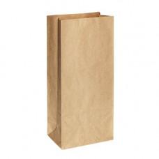 Пакет 330х120х80мм прямоугольное дно бумага крафт