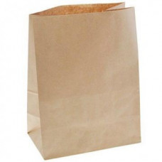 Пакет 250х190х100мм прямоугольное дно бумага крафт