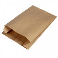 Пакет 390х250х100мм плоское дно бумага крафт