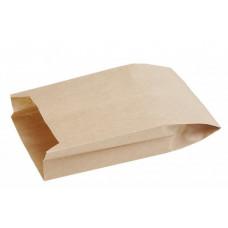 Пакет 300х170х70мм плоское дно бумага крафт