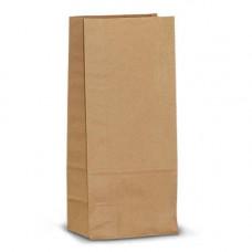 Пакет 170х80х50мм прямоугольное дно бумага крафт