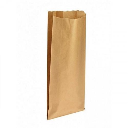 Пакет 300х100х60мм плоское дно бумага крафт