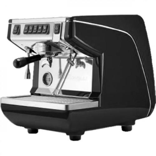 Кофемашина-автомат NUOVA SIMONELLI APPIA LIFE 1GR V 220V BLACK+HIGH GROUPS