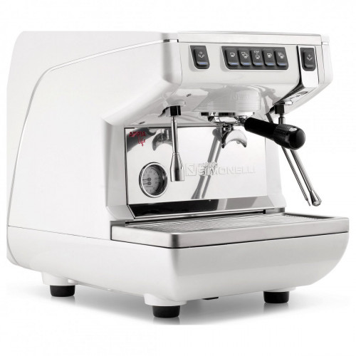 Кофемашина-автомат NUOVA SIMONELLI APPIA LIFE 1GR V 220V WHITE+HIGH GROUPS