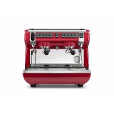 Кофемашина-автомат NUOVA SIMONELLI APPIA LIFE COMPACT 2GR V 220V RED+ECONOMIZER+HIGH GROUPS
