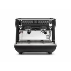 Кофемашина-автомат NUOVA SIMONELLI APPIA LIFE COMPACT 2GR V 220V BLACK+ECONOMIZER+HIGH GROUPS